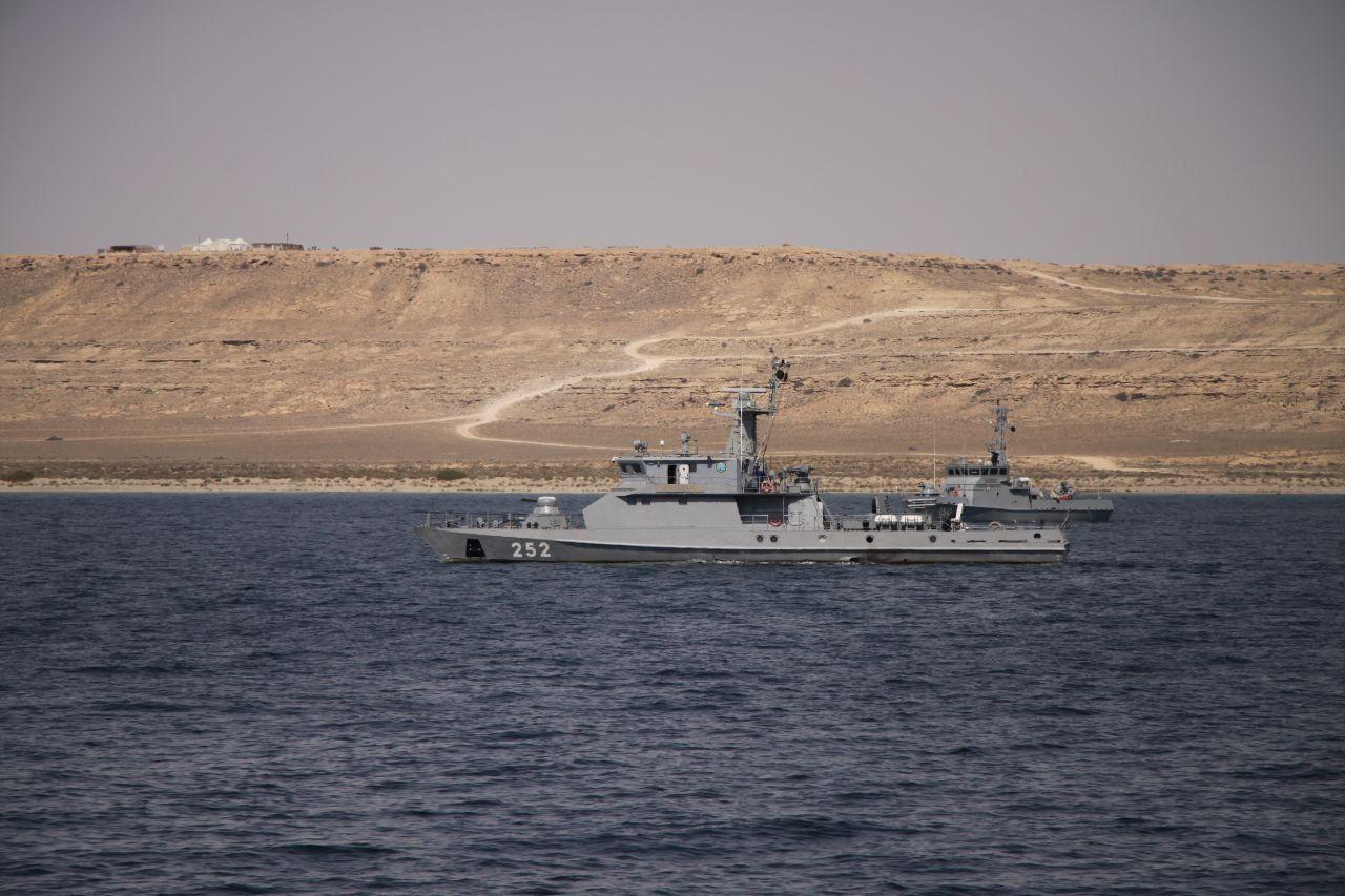 Каспийде әскери теңізшілер жауынгерлік оқу-жаттығу тапсырмаларын орындады.